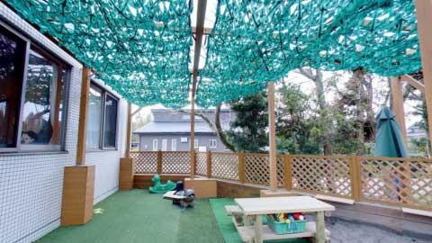 低年齢専用園庭